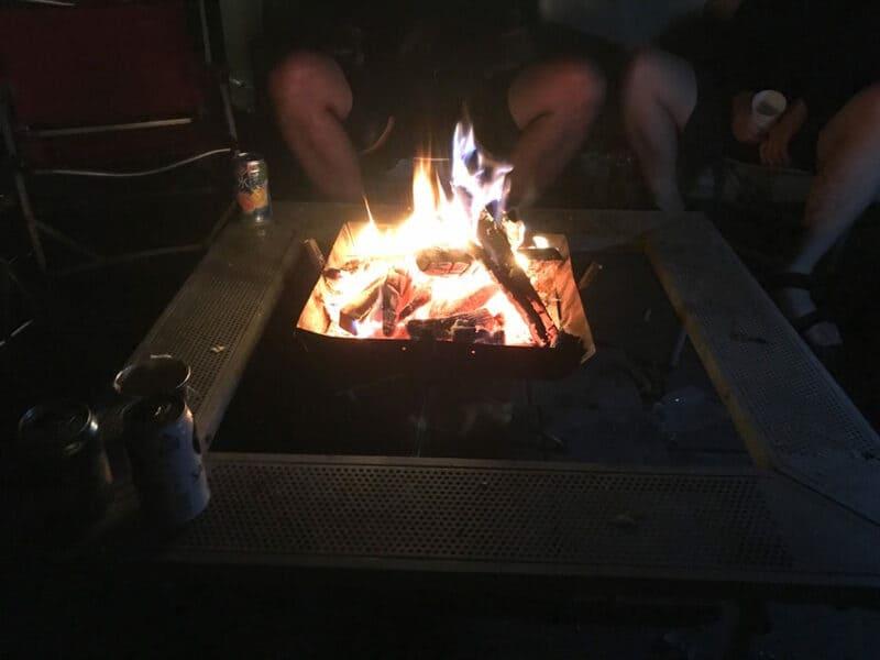 マッシュルームパオ「TAKIBI」焚き火
