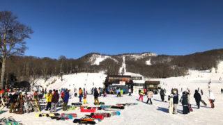 たんばらスキーパーク初級コース