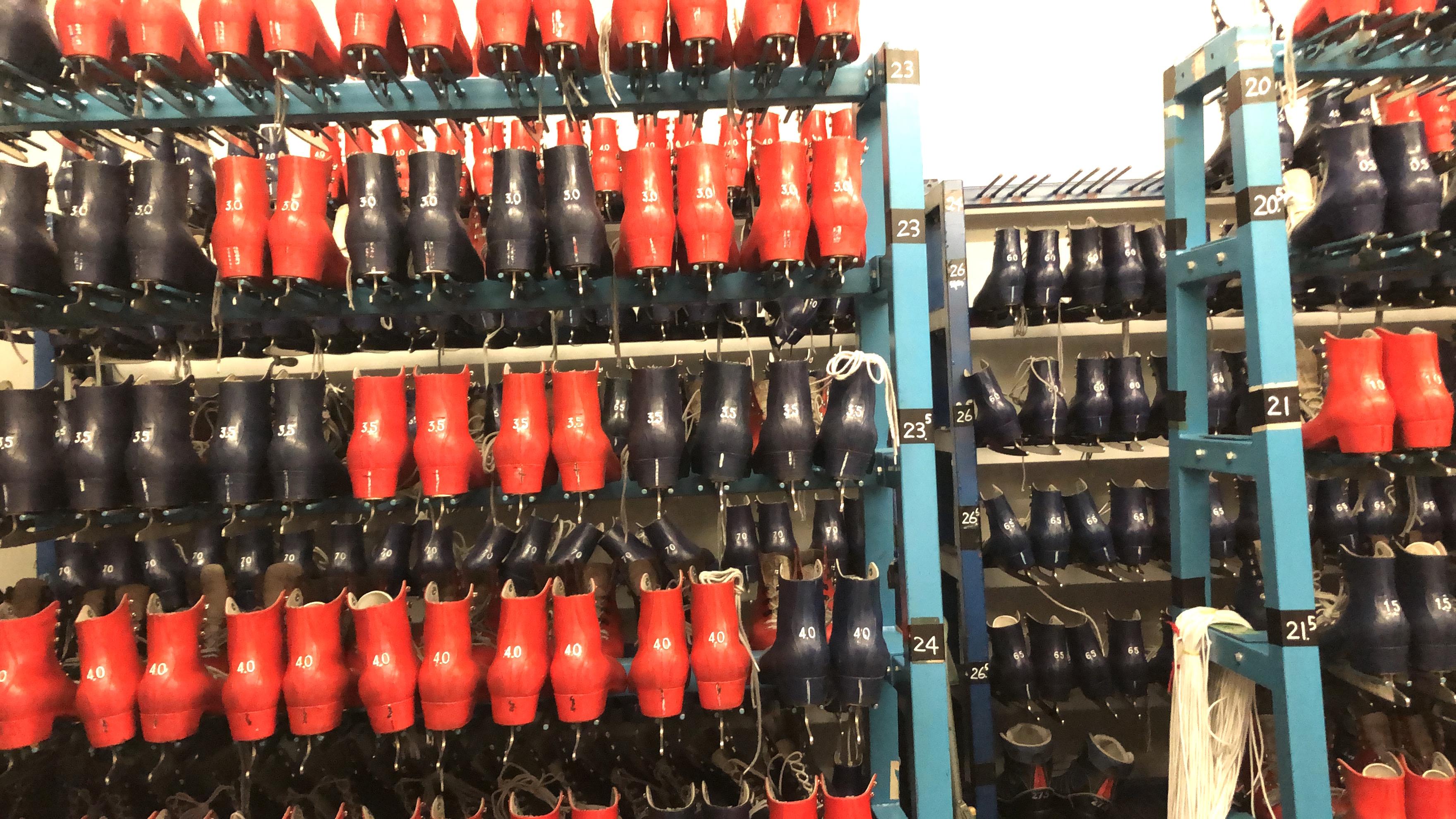 スケートレンタル靴