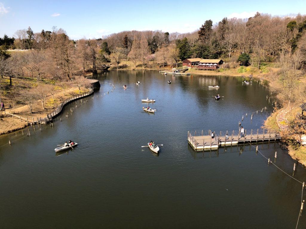 アンデルセン公園ボート