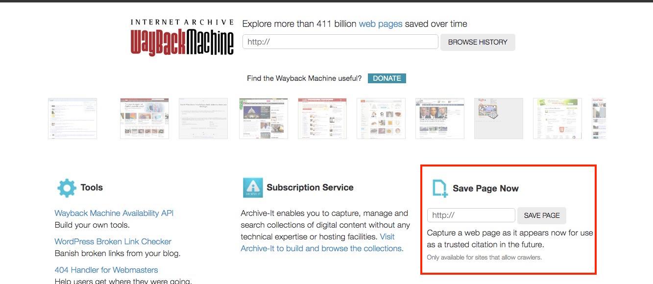 Internet Archive自分で登録