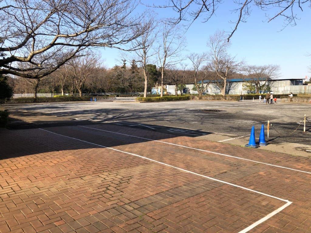 ふなばしアンデルセン公園駐車場