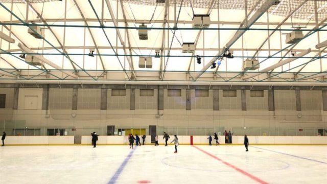 高崎市ニューサンピアスケート場