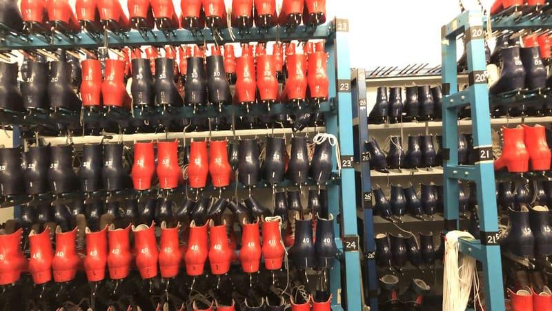 高崎市ニューサンピアスケート場レンタル靴
