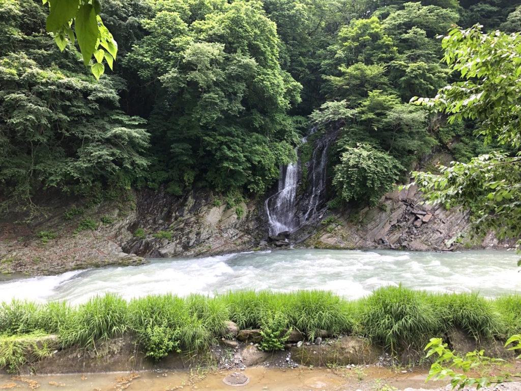 将門の滝オートキャンプ場滝