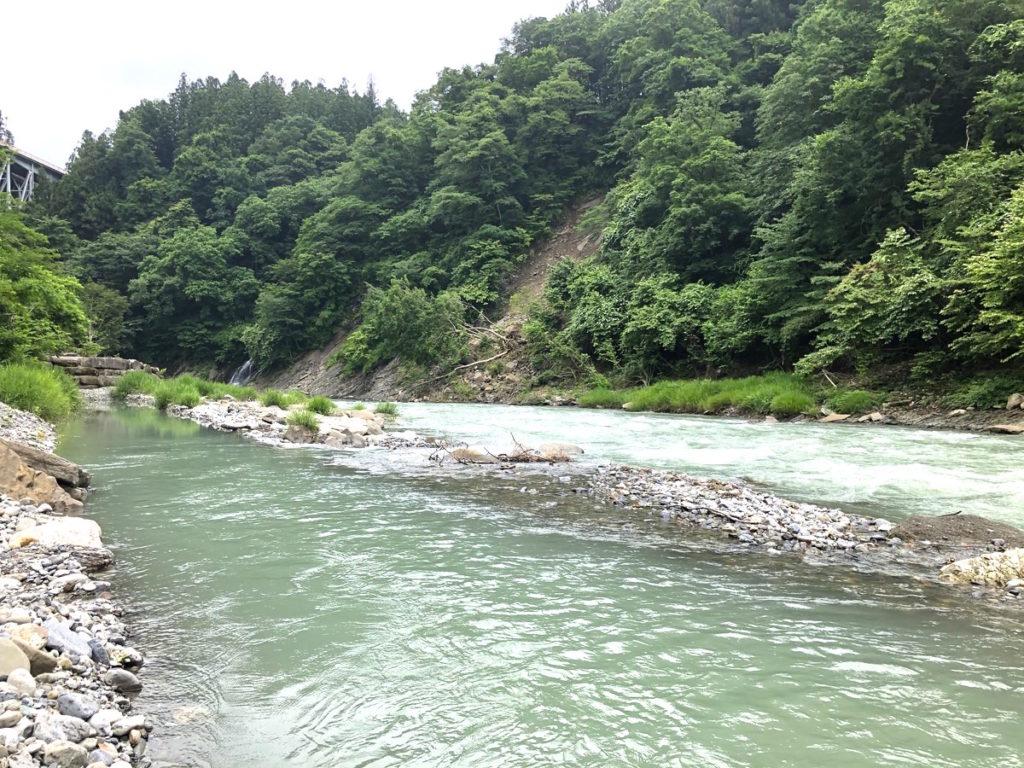 将門の滝オートキャンプ場川遊び