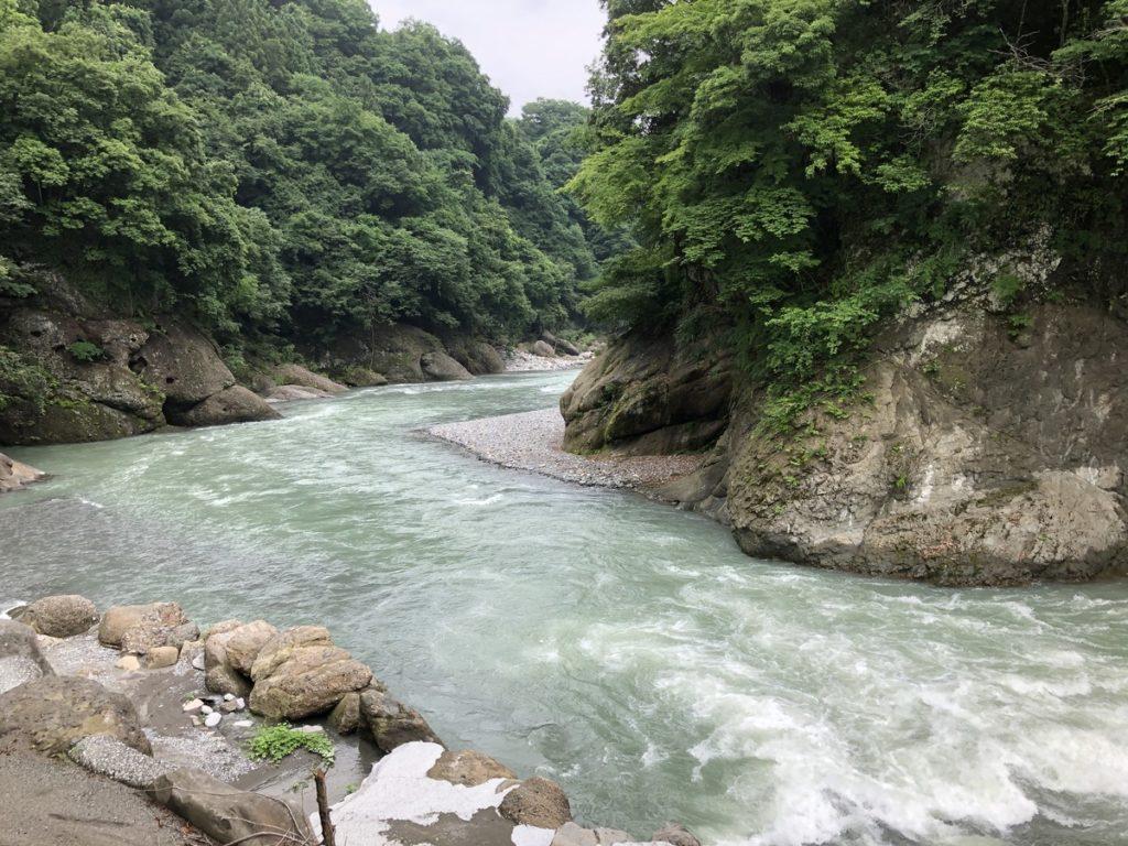 将門の滝オートキャンプ場景色