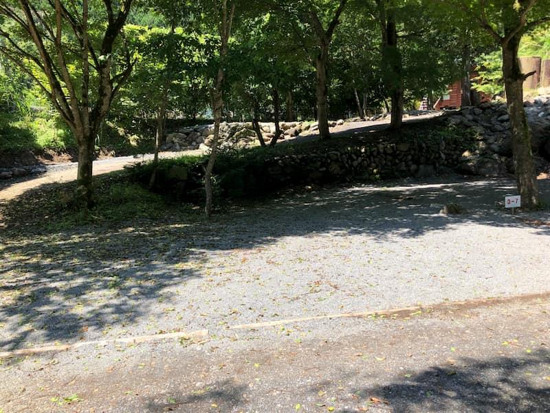 神庭オートキャンプ場区画