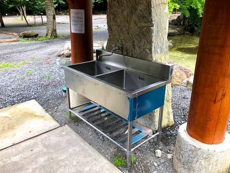 神庭オートキャンプ場炊事場