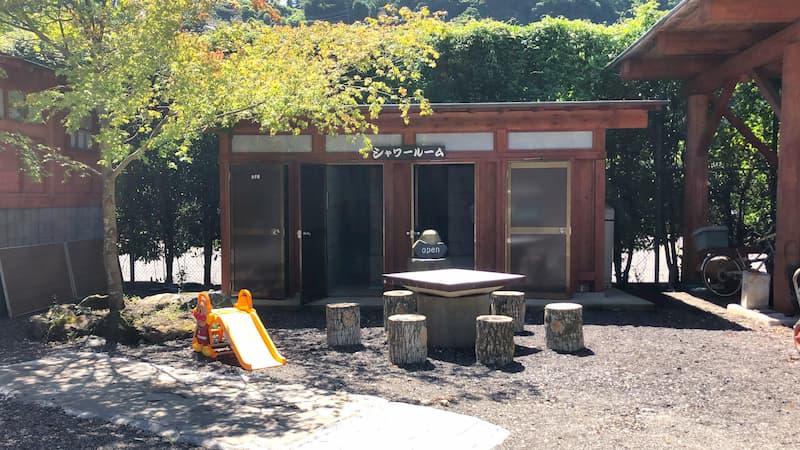 神庭オートキャンプ場シャワー