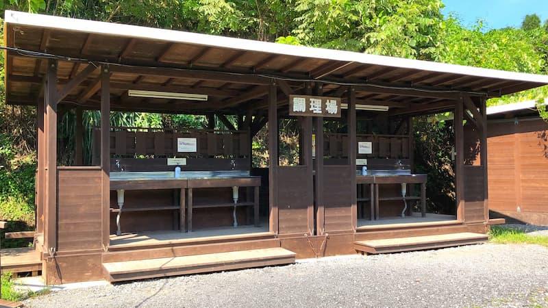巴川オートキャンプ場炊事場