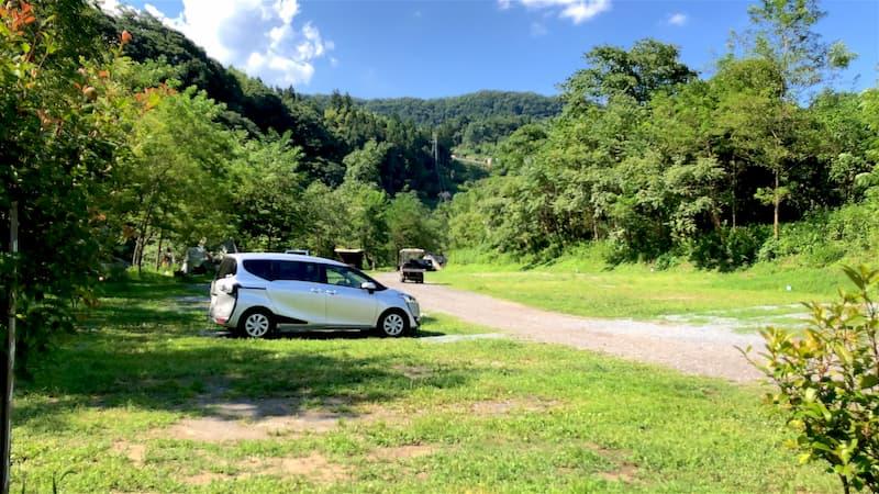 巴川オートキャンプ場オートキャンプサイト